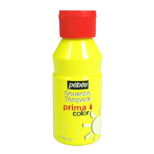 GOUACHE PRIMA COLOR 150ML JAUNE FLUO