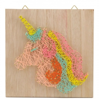 STRING ART LICORNE