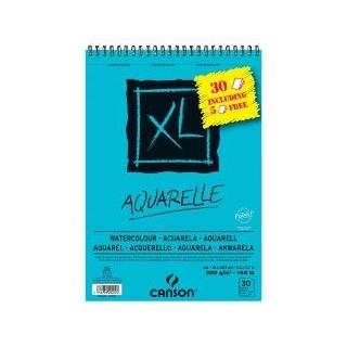 BLOC AQUARELLE XL GRAIN FIN 300 G A4  promo