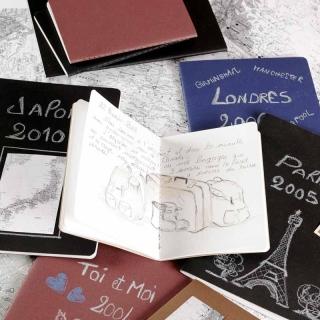 ARTBOOK INSPIRATION MARRON/CHANVRE CLAIR