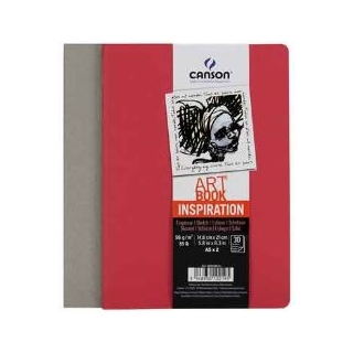 ARTBOOK INSPIRATION ROUGE/GRIS