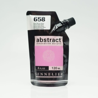 ACRY ABSTRACT 658 ROSE QUINACRIDONE