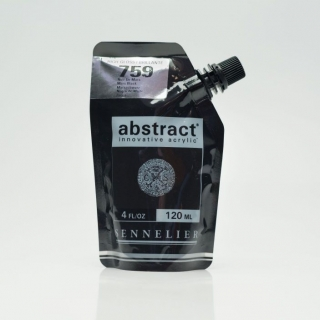 ACRY ABSTRACT 759B NOIR DE MARS BRILLANT