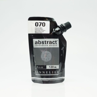 ACRY ABSTRACT 070 IRRIDESCENT NOIR