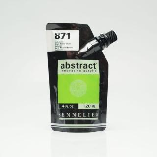 ACRY ABSTRACT 871 VERT JAUNE