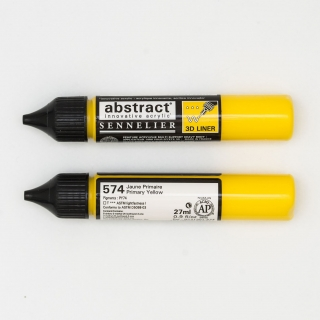 LINER ABSTRACT 574 JAUNE PRIMAIRE