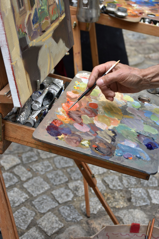 Image de la catégorie Pinceau Huile